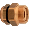 "Raccord PLT mâle cylindrique à joint plat - Ø 25 - 1"" - Chuchu Decayeux"
