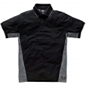 Polo gris / noir - Two tone - Taille L - Dickies