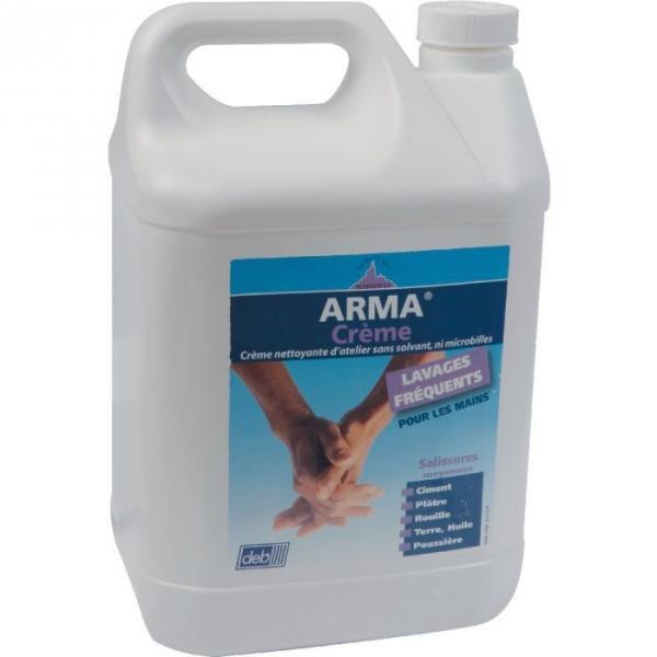 Savon Arma crème - Doseuse + 5 L - Arma