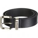 Ceinture noir cuir Belt - Taille 46 - Carhartt