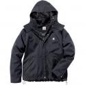 Parka noire - Shoreline Jacket - Taille L - Carhartt