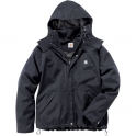 Parka noire - Shoreline Jacket - Taille XL - Carhartt