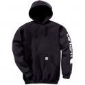 Sweat à capuche noir - K288 - Taille XL - Carhartt