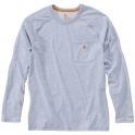T-Shirt gris manches longues - Force - Taille M - Carhartt