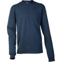 T-shirt bleu marine manches longues Logo EK231 - Taille L - Carhartt