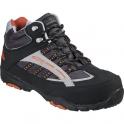 Chaussure de sécurité haute noire / orange - 46 (Pointure) - Coverguard footwear