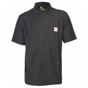 Polo noir - Contractor's - Taille L - Carhartt