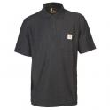Polo noir - Contractor's - Taille XL - Carhartt