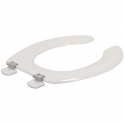 Abattant WC Blanc simple - Anti-Contact - Olfa