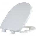 Abattant WC Blanc double - Spot classique - Dubourgel