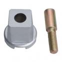 Axe pour pivot MUSTAD - Rectangulaire - Normbau
