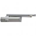 Ferme-porte TS90 force 3-4 avec bras à glissière - Blanc - Dormakaba