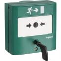 Déclencheur manuel standard pour issues de secours - A membrane déformable indicateur mécanique d'état - Legrand