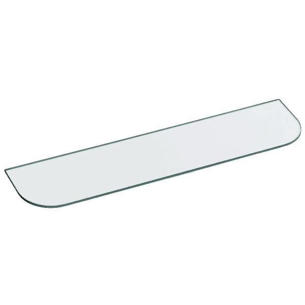 tablette de lavabo en verre 500 mm pellet asc cazabox. Black Bedroom Furniture Sets. Home Design Ideas