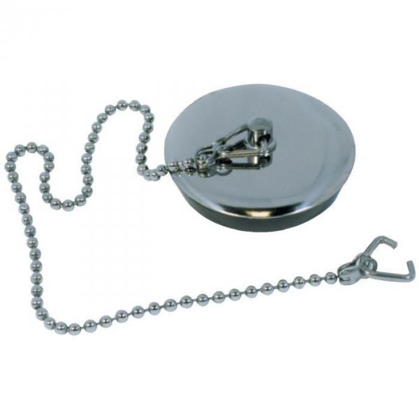 Bouchon de vidage plaque inox - 35X40 - 30 - Watts industries