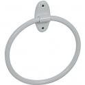 Porte-serviette - anneau acier époxy - Ø 195 mm - Pellet ASC
