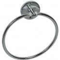 Porte-serviette - anneau acier chromé - Ø 195 mm - Pellet ASC