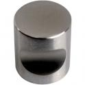 Bouton encoche inox - 25 mm - Métaux Ouvres et Décorés