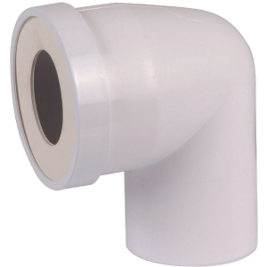 Pipe courte mâle ø 100 mm à 90° - Regiplast