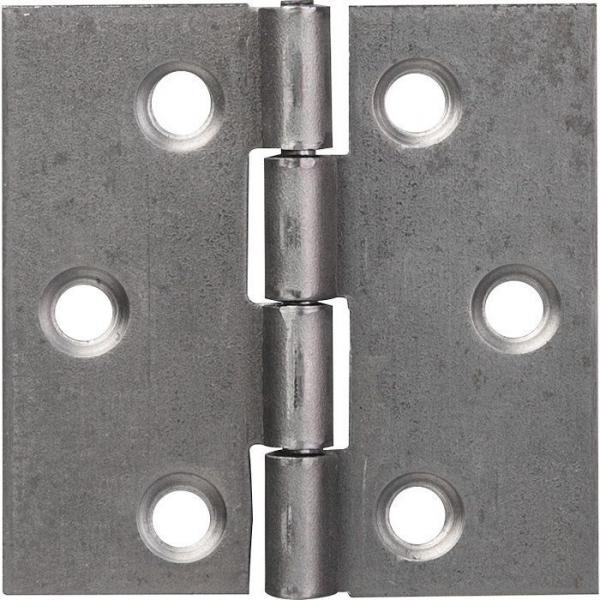 Charnière carrée nœud roulé simple feuille - 40X40 - Monin