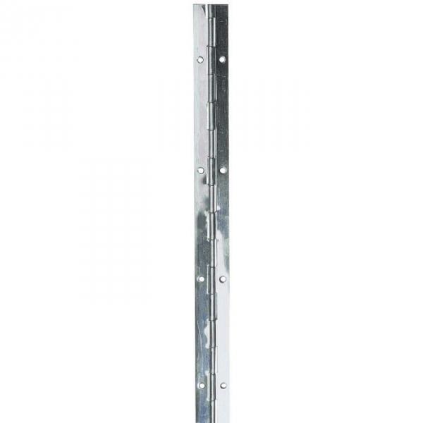 Charnière piano à nœud roulé en inox - 40 mm - Monin