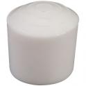 Embout en plastique blanc - Ø20 - Guitel Point M