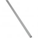 Cornière inégale aluminium satiné - 15X20 - Duval
