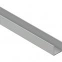 Profil U en aluminium - 20 mm - Duval