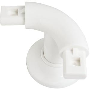 Support de liaison coudé à 90° - 72,5 x 96 mm - Ø 33 mm - Pellet ASC