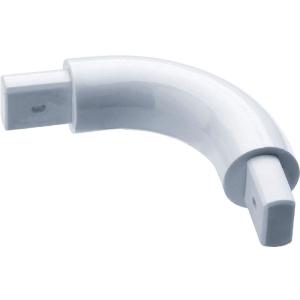 Coude de liaison 90° - 70 x 70 mm - Ø 33 mm - Pellet ASC