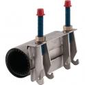 Collier de réparation double tirant - 95X105 - Gebo