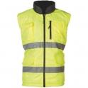 Gilet jaune / gris réversible - HI-Way - Taille L - Coverguard