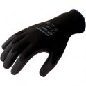 Gant polyester noir - La paire - Taille 8 - Eurotechnique