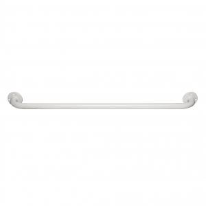 Barre d'appui droite époxy blanc Ø 65 mm - Godonnier
