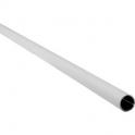 Tube rond gainé blanc - Ø 16 mm - 2 m - Sélection Cazabox