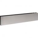 Plinthe de bas de porte en U Inox satiné - 930x150 - Duval