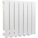 Radiateur horizontal chaleur douce blanc - 750 W - Accessio DIG2 - Atlantic