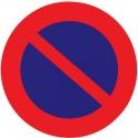 Panneau rond - station interdit - Outibat