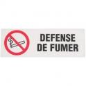 Panneau rectangulaire - defense de fumer - Novap