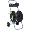 Dévidoir ABS de tuyau sur roues avec clayette - Cap Vert