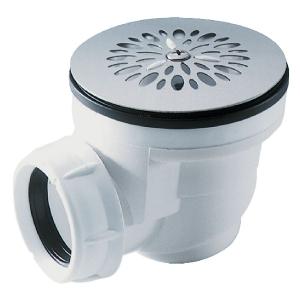 Bonde siphoïde en plastique pour receveur orifice ø 60 mm - Nicoll
