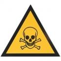 Panneau d'avertissement - danger de mort - 300mm - Novap