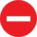 Panneau rond - sens interdit - Novap