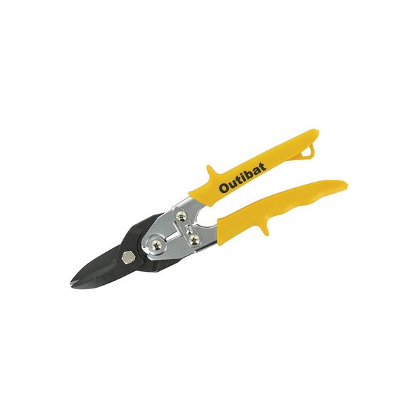 Cisaille à tôle type aviation - jaune - Outibat