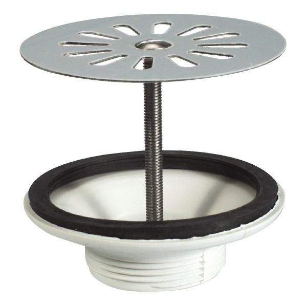 Bonde Plastique A Grille Plate Pour Evier Gres Valentin Cazabox