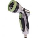 Pistolet d'arrosage à pomme aluminium et bi-matière - Cap Vert