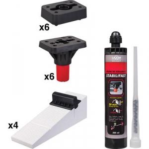 Kit de pieds de receveur Stabilifast - Lazer