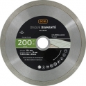 Disque diamant à tronçonner usage intensif - Ø 200 mm - Carrelage - SCID