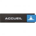 Plaquette signalétique Europe Access - acceuil - Novap