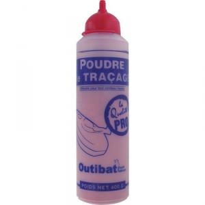 Biberon de poudre rouge - 400g - Outibat